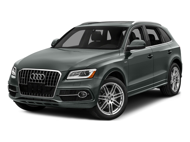 Monsoon Gray Metallic 2016 Audi Q5 Pictures Q5 Utility 4D 2.0T Prestige AWD Hybrid photos front view