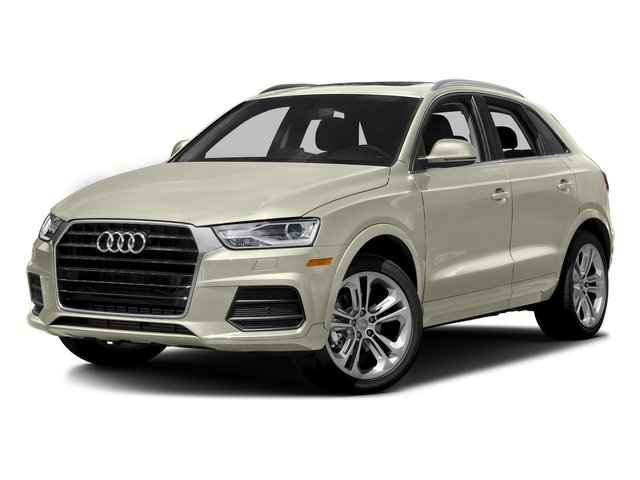 Glacier White Metallic 2016 Audi Q3 Pictures Q3 Utility 4D 2.0T Premium Plus 2WD photos front view