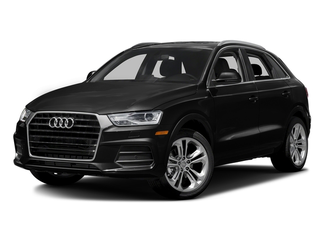 Brilliant Black 2016 Audi Q3 Pictures Q3 Utility 4D 2.0T Prestige 2WD photos front view