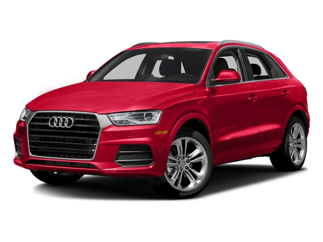 Misano Red Pearl Effect 2016 Audi Q3 Pictures Q3 Utility 4D 2.0T Prestige 2WD photos front view