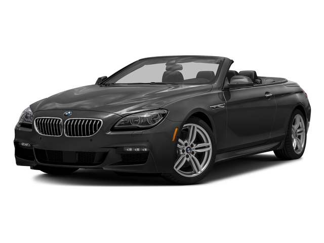 Jet Black 2016 BMW 6 Series Pictures 6 Series Convertible 2D 640xi AWD I6 photos front view