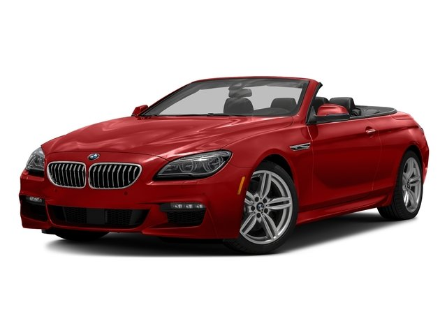 Melbourne Red Metallic 2016 BMW 6 Series Pictures 6 Series Convertible 2D 640xi AWD I6 photos front view