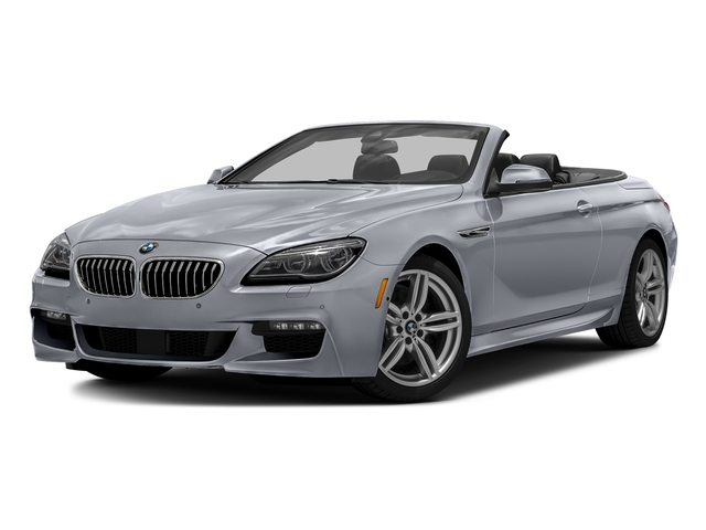 Glacier Silver Metallic 2016 BMW 6 Series Pictures 6 Series Convertible 2D 640xi AWD I6 photos front view
