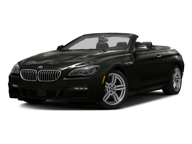 Citrin Black Metallic 2016 BMW 6 Series Pictures 6 Series Convertible 2D 640xi AWD I6 photos front view