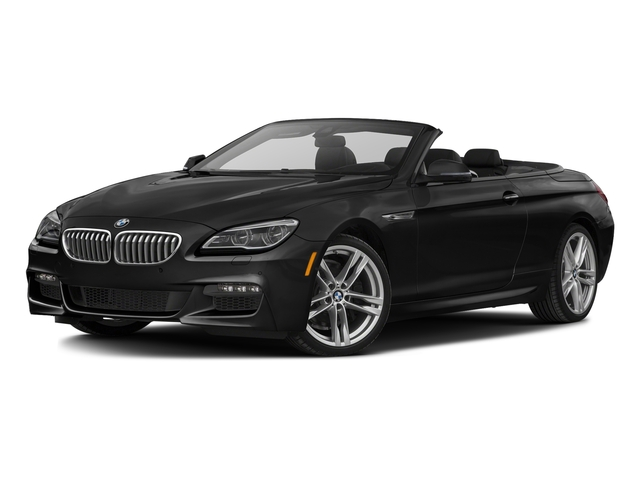 Black Sapphire Metallic 2016 BMW 6 Series Pictures 6 Series Convertible 2D 650xi AWD V8 photos front view