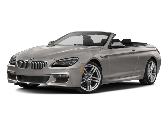 Cashmere Silver Metallic 2016 BMW 6 Series Pictures 6 Series Convertible 2D 650xi AWD V8 photos front view