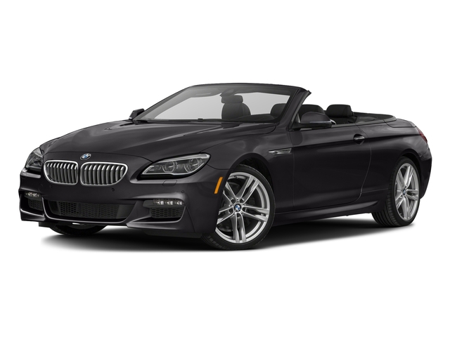 Ruby Black Metallic 2016 BMW 6 Series Pictures 6 Series Convertible 2D 650xi AWD V8 photos front view