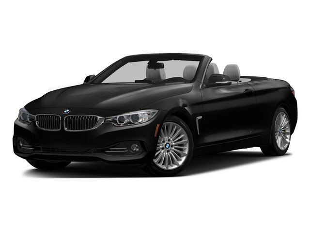 Black Sapphire Metallic 2016 BMW 4 Series Pictures 4 Series Convertible 2D 428xi AWD I4 Turbo photos front view