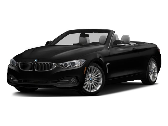 Jet Black 2016 BMW 4 Series Pictures 4 Series Convertible 2D 428xi AWD I4 Turbo photos front view