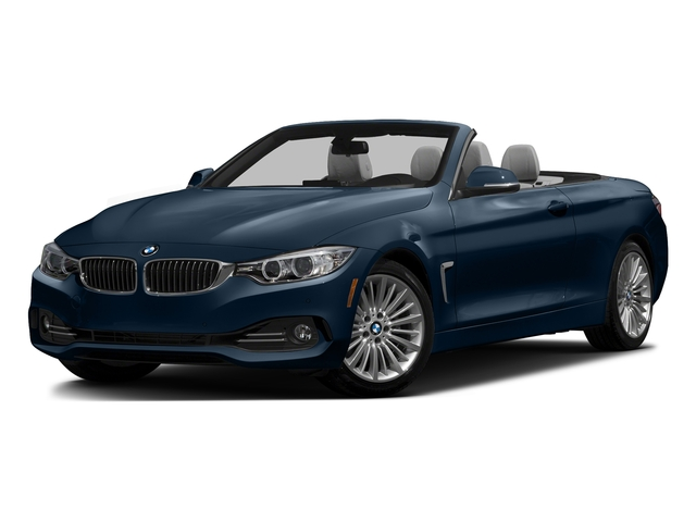 Midnight Blue Metallic 2016 BMW 4 Series Pictures 4 Series Convertible 2D 428xi AWD I4 Turbo photos front view