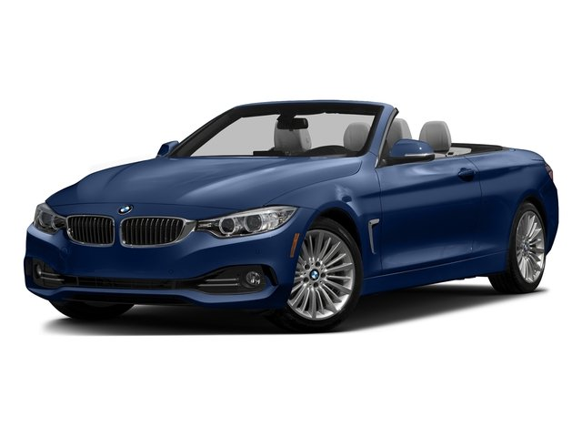 Estoril Blue Metallic 2016 BMW 4 Series Pictures 4 Series Convertible 2D 428xi AWD I4 Turbo photos front view