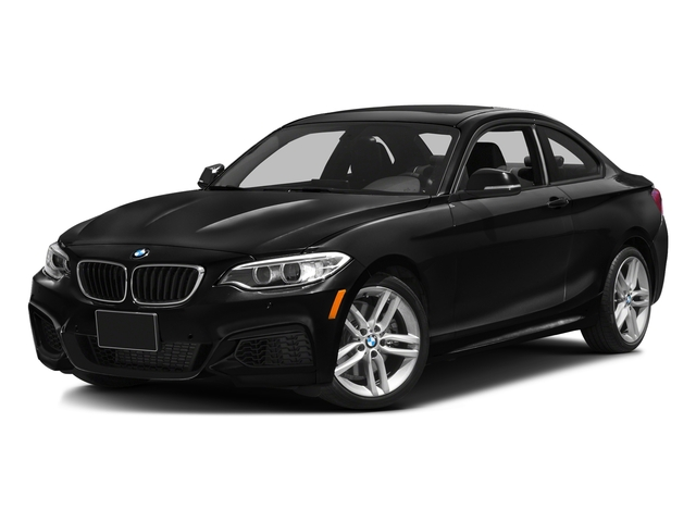 Black Sapphire Metallic 2016 BMW 2 Series Pictures 2 Series Coupe 2D 228i I4 Turbo photos front view