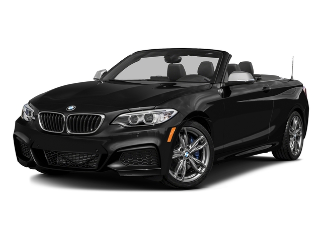 Black Sapphire Metallic 2016 BMW 2 Series Pictures 2 Series Convertible 2D M235i I6 Turbo photos front view