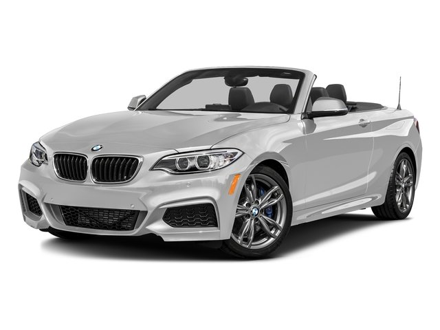 Mineral White Metallic 2016 BMW 2 Series Pictures 2 Series Convertible 2D M235i I6 Turbo photos front view