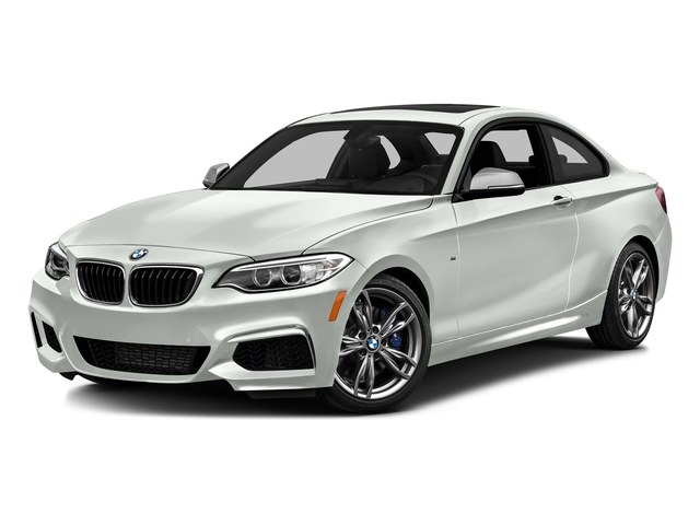 Alpine White 2016 BMW 2 Series Pictures 2 Series Coupe 2D M235i I6 Turbo photos front view