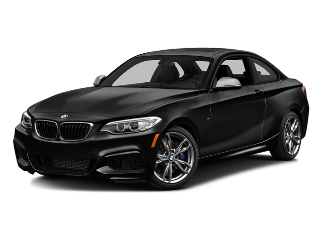 Black Sapphire Metallic 2016 BMW 2 Series Pictures 2 Series Coupe 2D M235i I6 Turbo photos front view