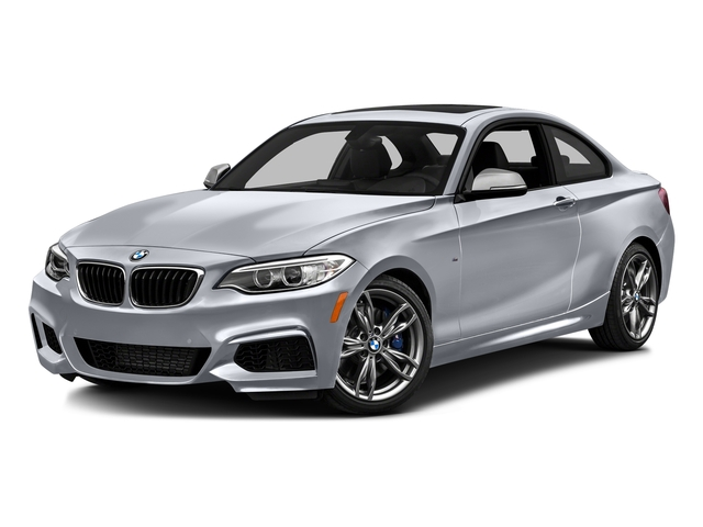Glacier Silver Metallic 2016 BMW 2 Series Pictures 2 Series Coupe 2D M235i I6 Turbo photos front view