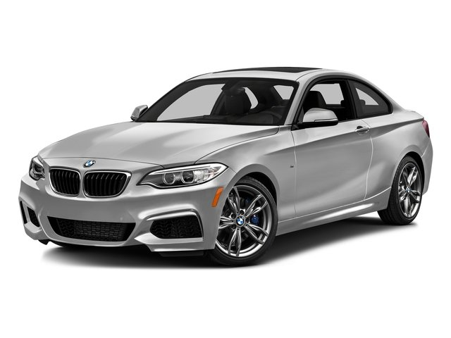 Mineral White Metallic 2016 BMW 2 Series Pictures 2 Series Coupe 2D M235i I6 Turbo photos front view