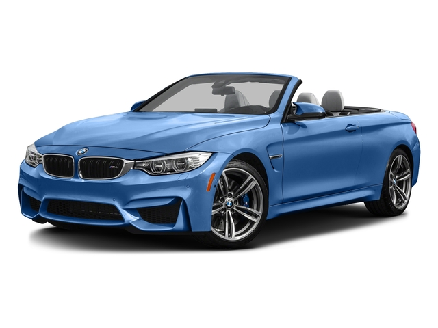 Yas Marina Blue Metallic 2016 BMW M4 Pictures M4 Convertible 2D M4 I6 Turbo photos front view