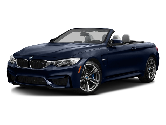 Tanzanite Blue Metallic 2016 BMW M4 Pictures M4 Convertible 2D M4 I6 Turbo photos front view