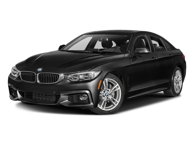 Jet Black 2016 BMW 4 Series Pictures 4 Series Sedan 4D 435i I6 Turbo photos front view