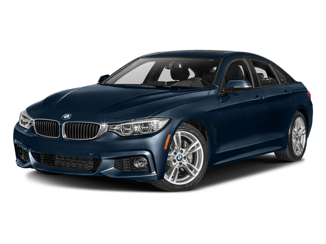 Midnight Blue Metallic 2016 BMW 4 Series Pictures 4 Series Sedan 4D 435i I6 Turbo photos front view