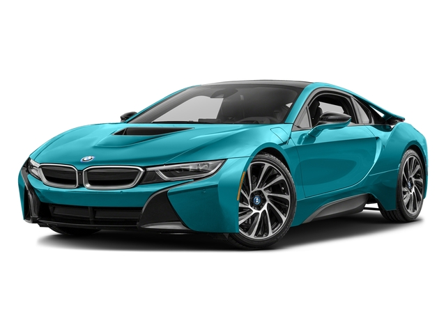 Protonic Blue Metallic W Frozen Gray Accent 2016 BMW I8 Pictures Coupe 2D AWD