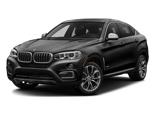 Jet Black 2016 BMW X6 Pictures X6 Utility 4D xDrive50i AWD V8 Turbo photos front view