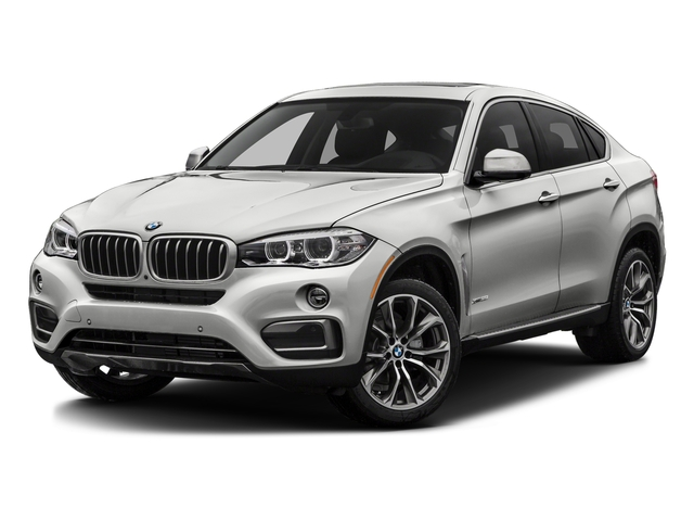 Mineral Silver Metallic 2016 BMW X6 Pictures X6 Utility 4D xDrive50i AWD V8 Turbo photos front view