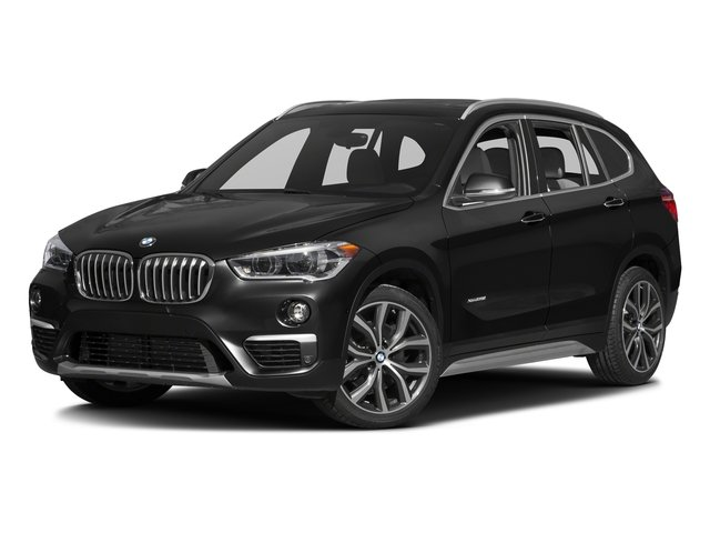 Jet Black 2016 BMW X1 Pictures X1 Utility 4D 28i AWD I4 Turbo photos front view