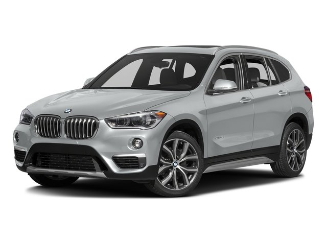 Glacier Silver Metallic 2016 BMW X1 Pictures X1 Utility 4D 28i AWD I4 Turbo photos front view