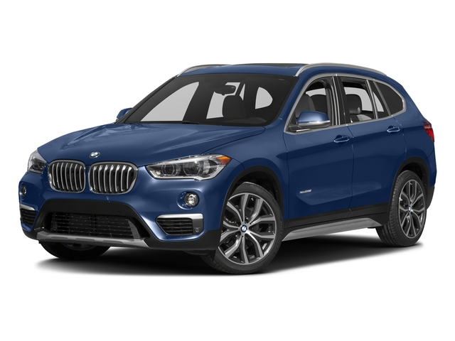 Estoril Blue Metallic 2016 BMW X1 Pictures X1 Utility 4D 28i AWD I4 Turbo photos front view