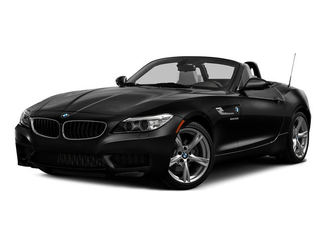 Black Sapphire Metallic 2016 BMW Z4 Pictures Z4 Roadster 2D Z4 35is I6 photos front view