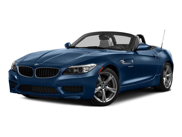 Deep Sea Blue Metallic 2016 BMW Z4 Pictures Z4 Roadster 2D Z4 35is I6 photos front view