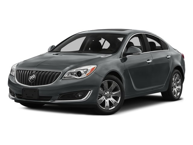 Smoky Gray Metallic 2016 Buick Regal Pictures Regal Sedan 4D Premium I eAssist I4 Hybrid photos front view