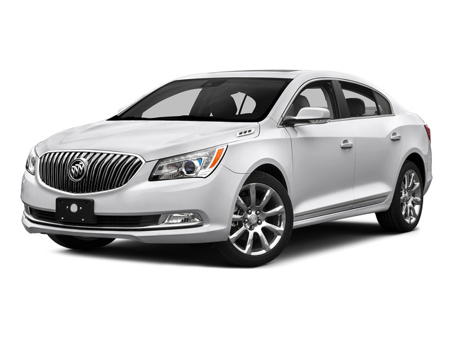 Summit White 2016 Buick LaCrosse Pictures LaCrosse Sedan 4D Leather AWD V6 photos front view