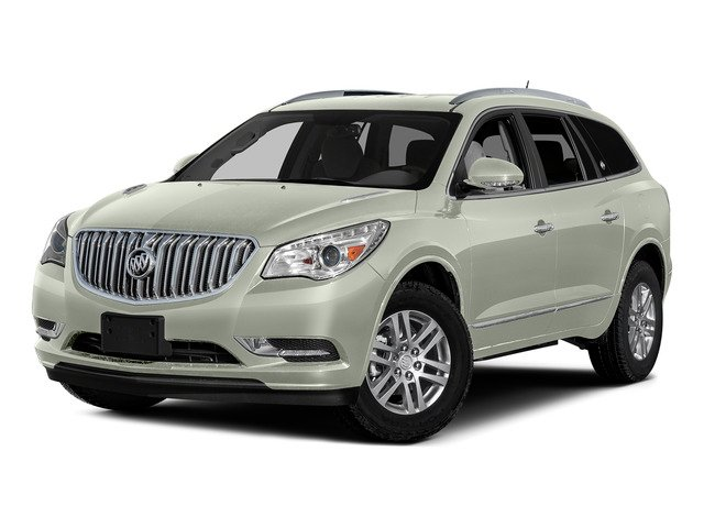 White Frost Tricoat 2016 Buick Enclave Pictures Enclave Utility 4D Premium AWD V6 photos front view