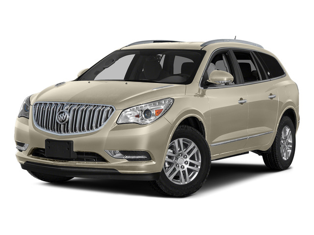 Sparkling Silver Metallic 2016 Buick Enclave Pictures Enclave Utility 4D Leather AWD V6 photos front view