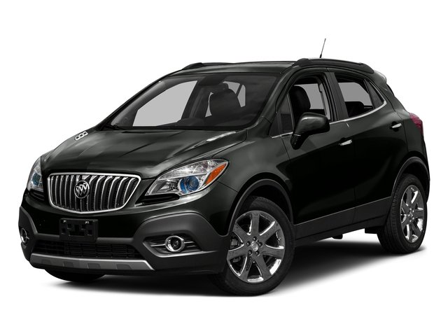 Carbon Black Metallic 2016 Buick Encore Pictures Encore Utility 4D Sport Touring 2WD I4 photos front view