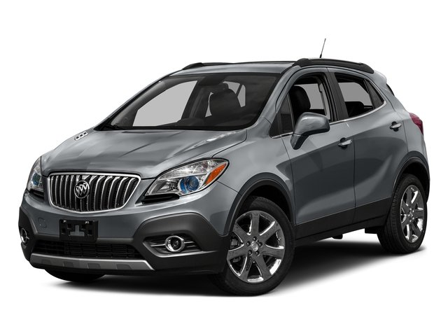 River Rock Metallic 2016 Buick Encore Pictures Encore Utility 4D Sport Touring 2WD I4 photos front view