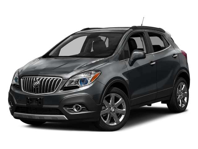 Graphite Gray Metallic 2016 Buick Encore Pictures Encore Utility 4D Sport Touring 2WD I4 photos front view