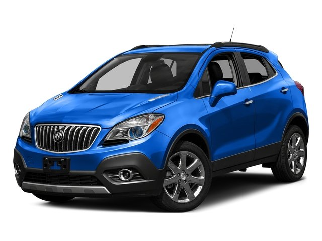 Coastal Blue Metallic 2016 Buick Encore Pictures Encore Utility 4D Sport Touring 2WD I4 photos front view