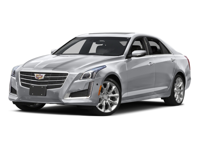 Radiant Silver Metallic 2016 Cadillac CTS Sedan Pictures CTS Sedan 4D Luxury I4 Turbo photos front view