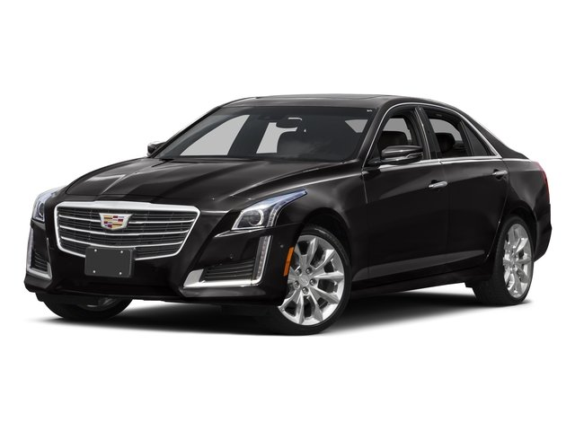 Black Raven 2016 Cadillac CTS Sedan Pictures CTS Sedan 4D Luxury I4 Turbo photos front view