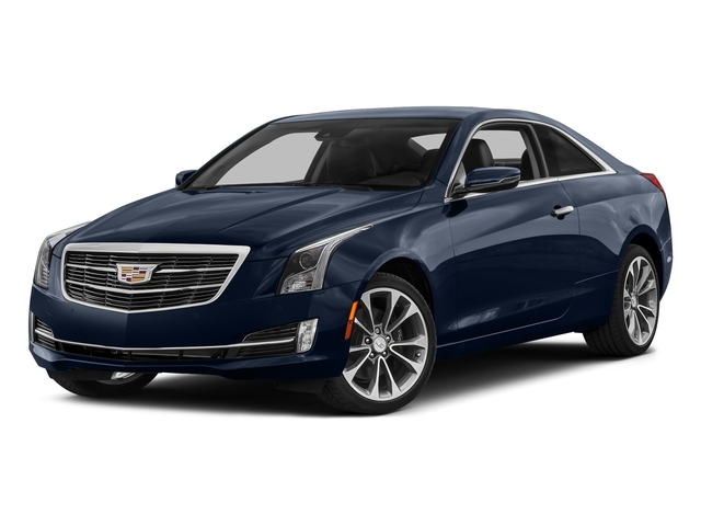 Dark Adriatic Blue Metallic 2016 Cadillac ATS Coupe Pictures ATS Coupe 2D Performance V6 photos front view
