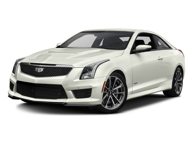 Crystal White Tricoat 2016 Cadillac ATS-V Coupe Pictures ATS-V Coupe 2D V-Series V6 Turbo photos front view