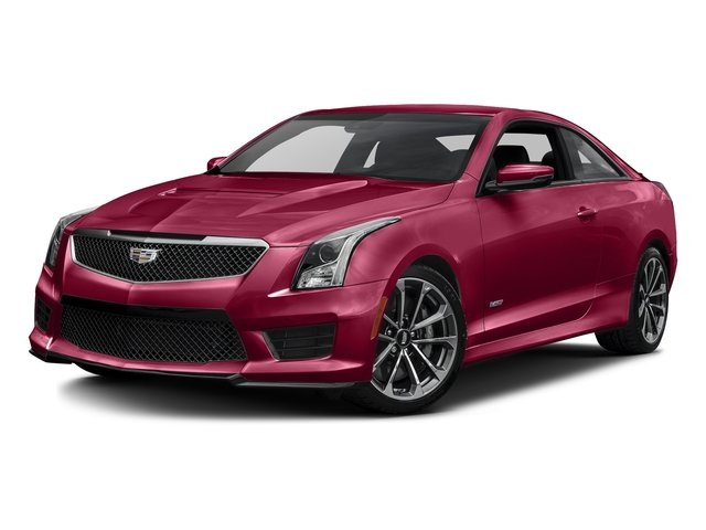 Red Obsession Tintcoat 2016 Cadillac ATS-V Coupe Pictures ATS-V Coupe 2D V-Series V6 Turbo photos front view