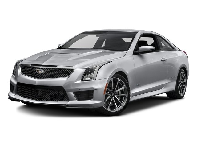 Radiant Silver Metallic 2016 Cadillac ATS-V Coupe Pictures ATS-V Coupe 2D V-Series V6 Turbo photos front view