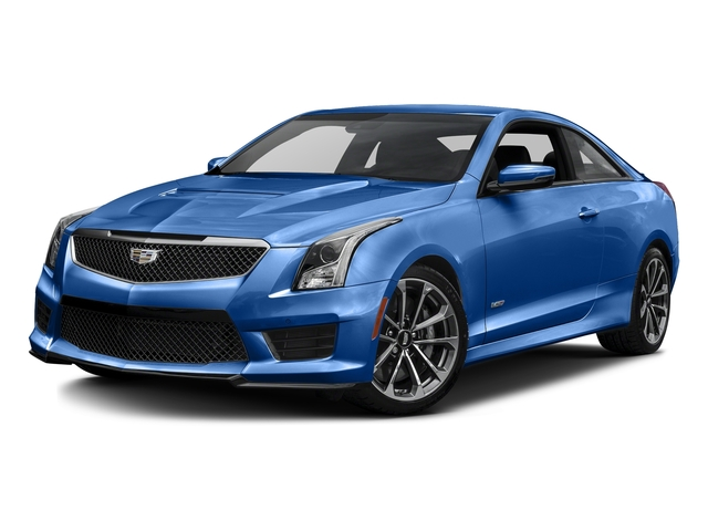 Vector Blue Metallic 2016 Cadillac ATS-V Coupe Pictures ATS-V Coupe 2D V-Series V6 Turbo photos front view