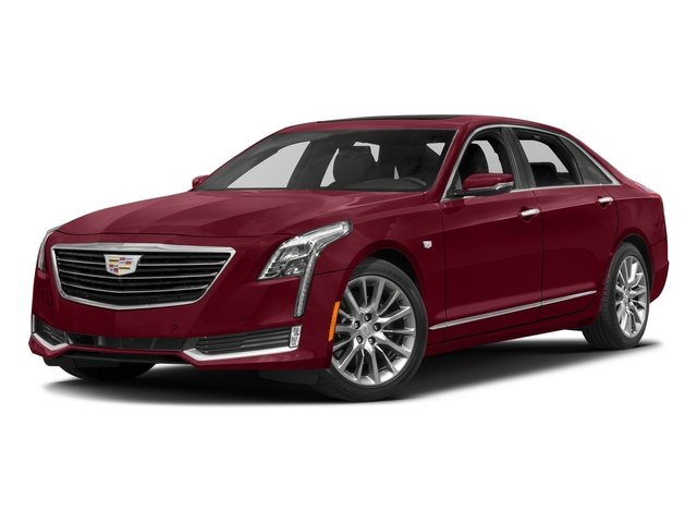 Red Passion Tintcoat 2016 Cadillac CT6 Pictures CT6 Sedan 4D Luxury 3.0TT AWD V6 Turbo photos front view